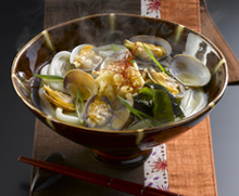 "Sea Food Noodles""Gamagori Udon"""