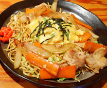 "Vegetable Fried Noodles""Hekinan Yakisoba"""